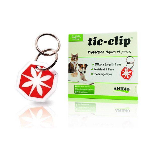 Médaille Tic-Clip anti-tiques et anti-puces
